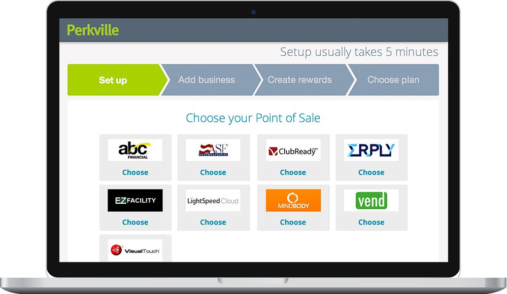 Choose your POS and set up your business